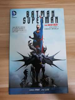Batman Superman New 52 - Volume 1 Cross World