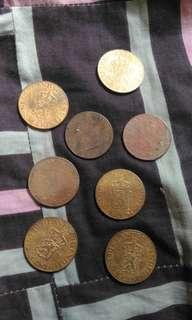 Uang 2 1/2 cent bengol