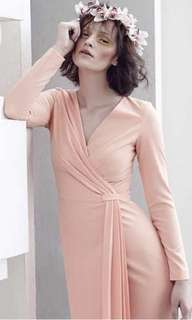Nurita Harith Kendall Dress in Peach