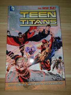 Teen Titans New 52- Volume 1 It's Our Right To Fight