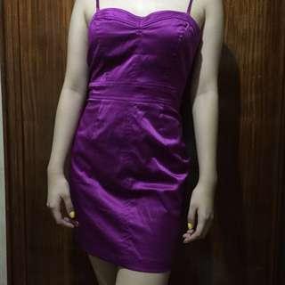 Forever 21 Plum Dress