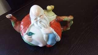 陶瓷笑佛神仙茶壺