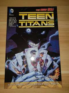 Teen Titans New 52 - Volume 3 Death Of The Family