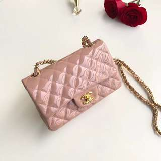 Chanel Flap patent leather