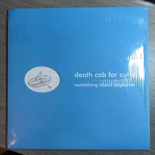 Vinyl records - death cab for cutie - mint condition rare Blue Vinyl