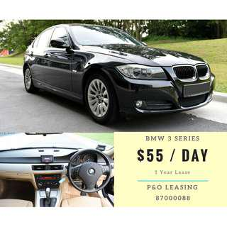 BMW 3 Series $55/Day 1 Year Lease