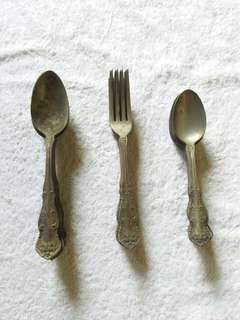 Antique Utensils Set