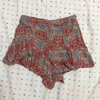 FOREVER 21 Print Dress Shorts