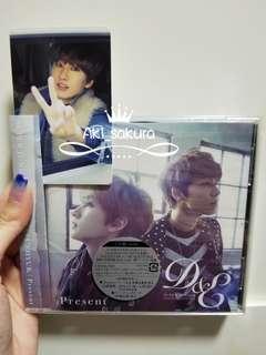 Super Junior D&E present cd 初回盤 & 銀赫小卡