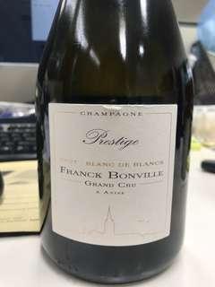 Frank Bonville Blanc de Blancs grand cru avize 法國香檳