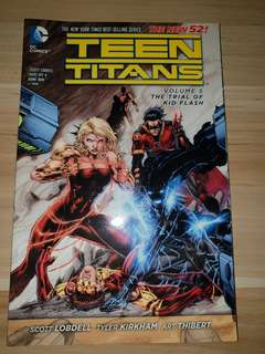 Teen Titans New 52 - Volume 5 The Trial Of Kid Flash
