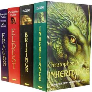 Inheritance Cycle (all four books including Eragon)