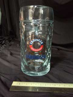 Erdinger beer glass
