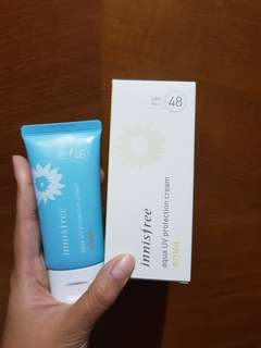 Innisfree aqua UV protection skin SPF 48 PA+++