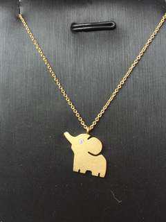 18K Diamond Necklace
