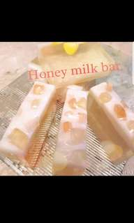 Honey milk bar soap