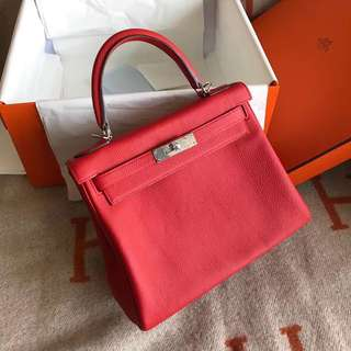 Hermes Kelly Togo leather handmade and customise
