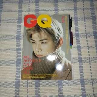 GQ MAGAZINE JANUARY ISSUE KANG DANIEL EDITION (majalah KANG DANIEL)