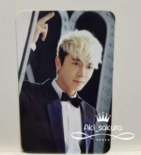 Super Junior D&E I Wanna Dance 東海小卡