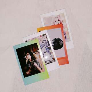 fan polaroids: dodie, one, pony