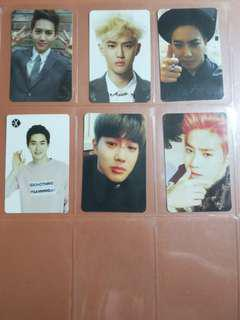 EXO Suho Photocards Clearance