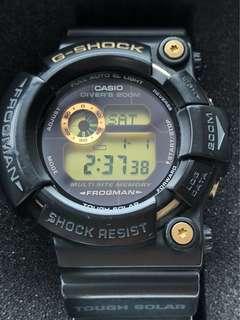 G-shock frogman 2422 黑色 手錶