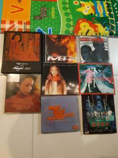 Used music CD and VCD movie