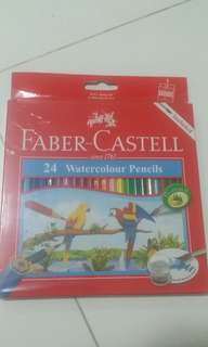 NEW Faber-Castell WaterColour Pencils(Brush Included)