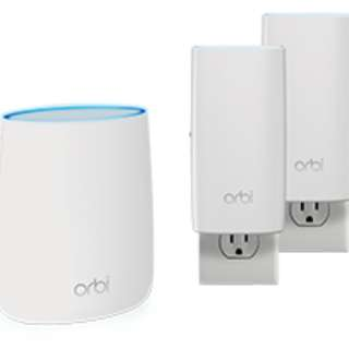 同價位冇對手! 全新1年保養 Orbi AC2200 Tri-Band Wi-Fi (RBK23W) By NETGEAR (WITH 1YEAR WARRANTY)