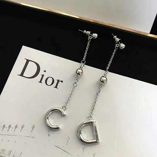 Dior 迪奧時尚女士耳環 耳釘