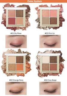 Etude House Blend For Eyes Eye Shadow 4warna