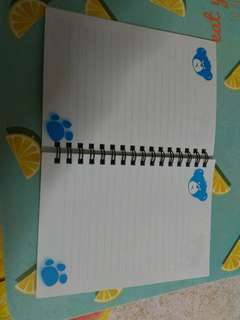 Build a bear workshop notebook