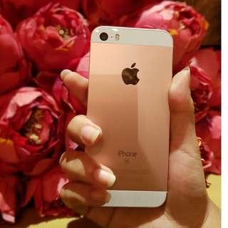 32GB IPHONE SE Rosegold