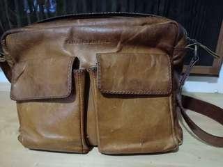 Dijual tas kulit (full grain leather)