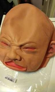 嚇人醜面笠頭面具