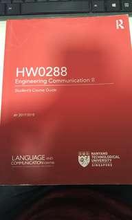 HW0288 Eng Comms II textbook