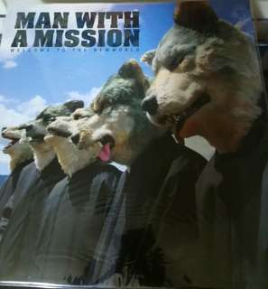 NM man with a mission record limited Japanese rock vinyl