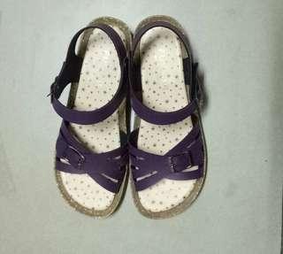 🚚 氣質休閒涼鞋(紫)
