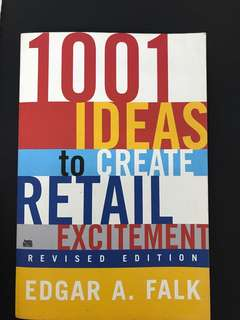 1001 Ideas to Create Retail Excitement (Revised Edition)