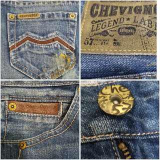 CHEVIGNON LEGEND LABEL JEANS