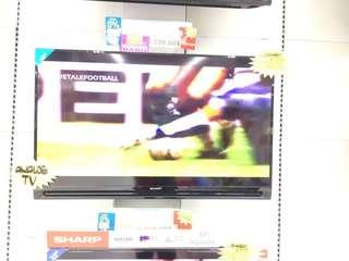 """TV Sharp 40"""" bisa credit tanpa kartu credit"""