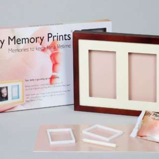 Baby Memory Prints (trio frame set for make baby's footprint or handprint)