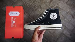 Converse 70s High Black Egret