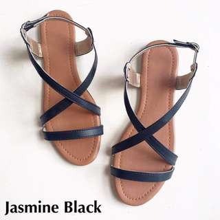 Jasmine Sandals - Black