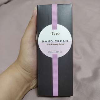 Typo Blackberry Dusk Hand Cream