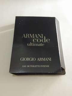 Vial Parfum Armani Code Ultimate EDT Intense Giorgio Armani