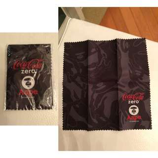 Aape Coca cola crossover 絨布(7.5吋x8吋)