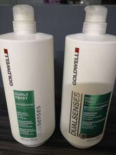 Goldwell shampoo and conditioner