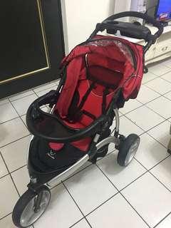 嬰兒推車+提籃汽座
