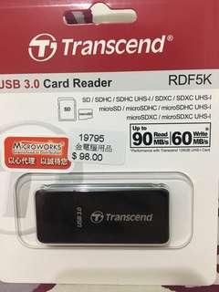 USB 3.0 Card Reader 未拆封 2年保養